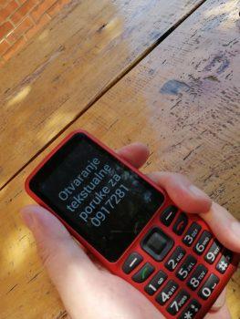 Obuka za rad na mobilnom uređaju s govornom jedinicom