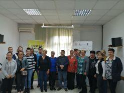 Na fotografiji mnoštvo žena, djelatnica na projektu Zaželi