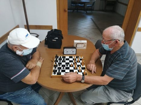 Pripreme za ekipno prvenstvo Hrvatske u šahu